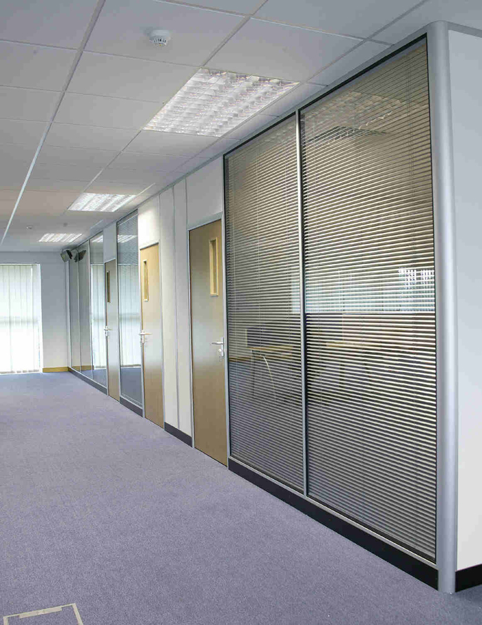 Full Height Double Glazed Integral Blinds