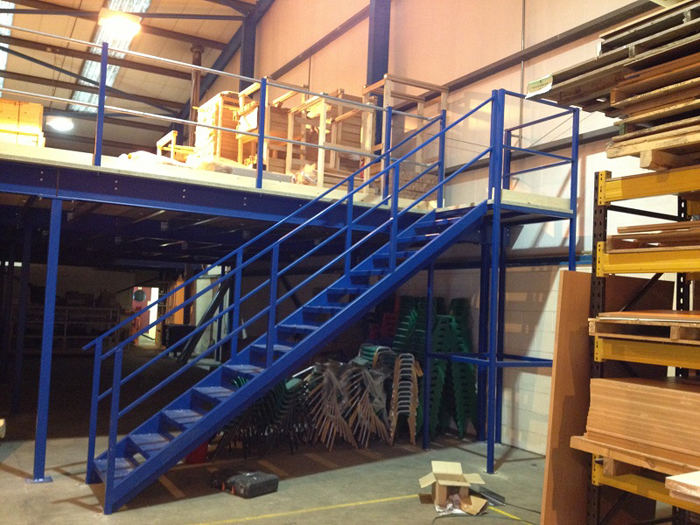 Mezzanine Floors with Storage